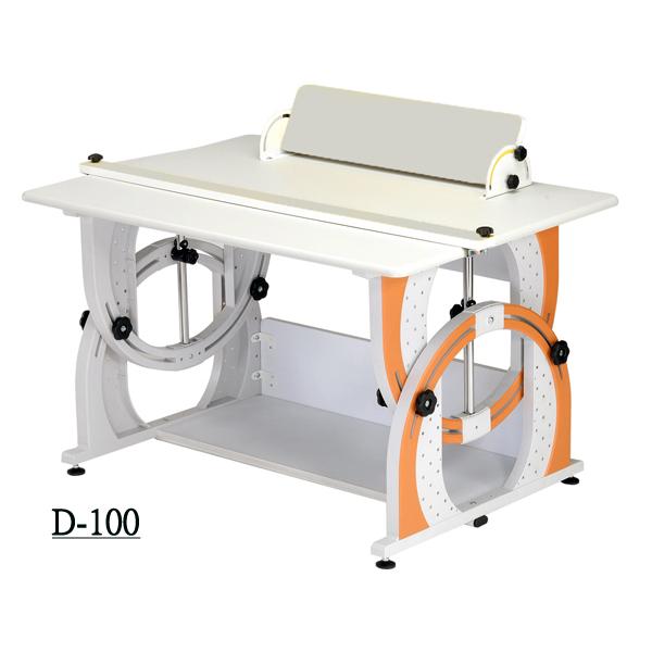D型兒童成長書桌 1