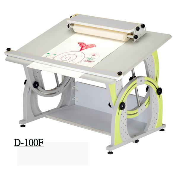 D型兒童成長書桌 3